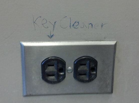 key cleaner